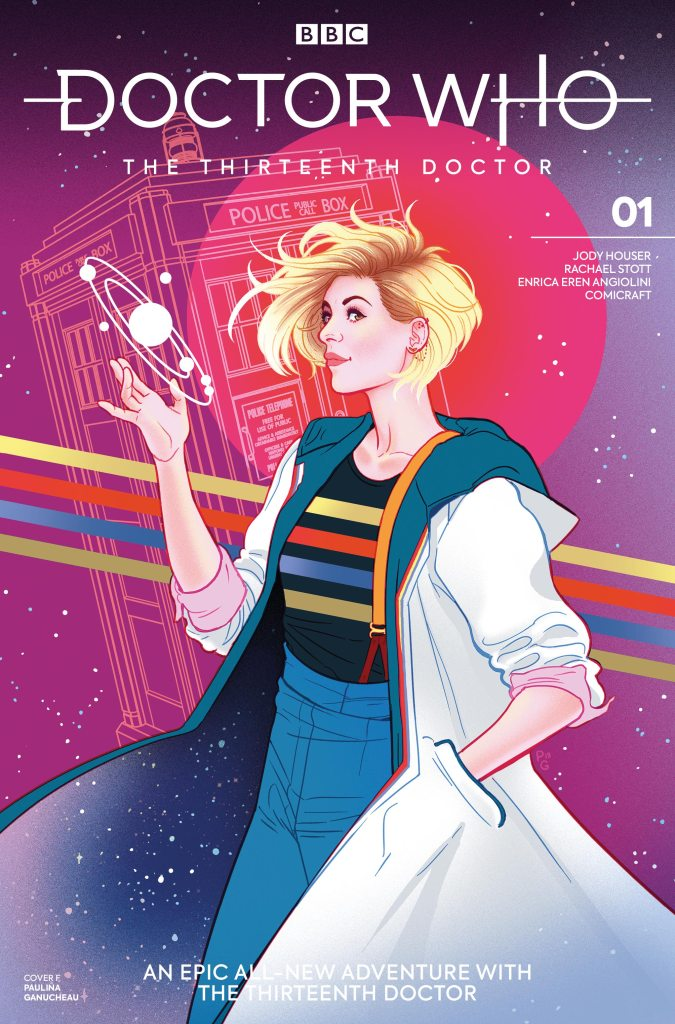 Doctor Who - The Thirteenth Doctor #1 Cover F - Paulina Ganucheau