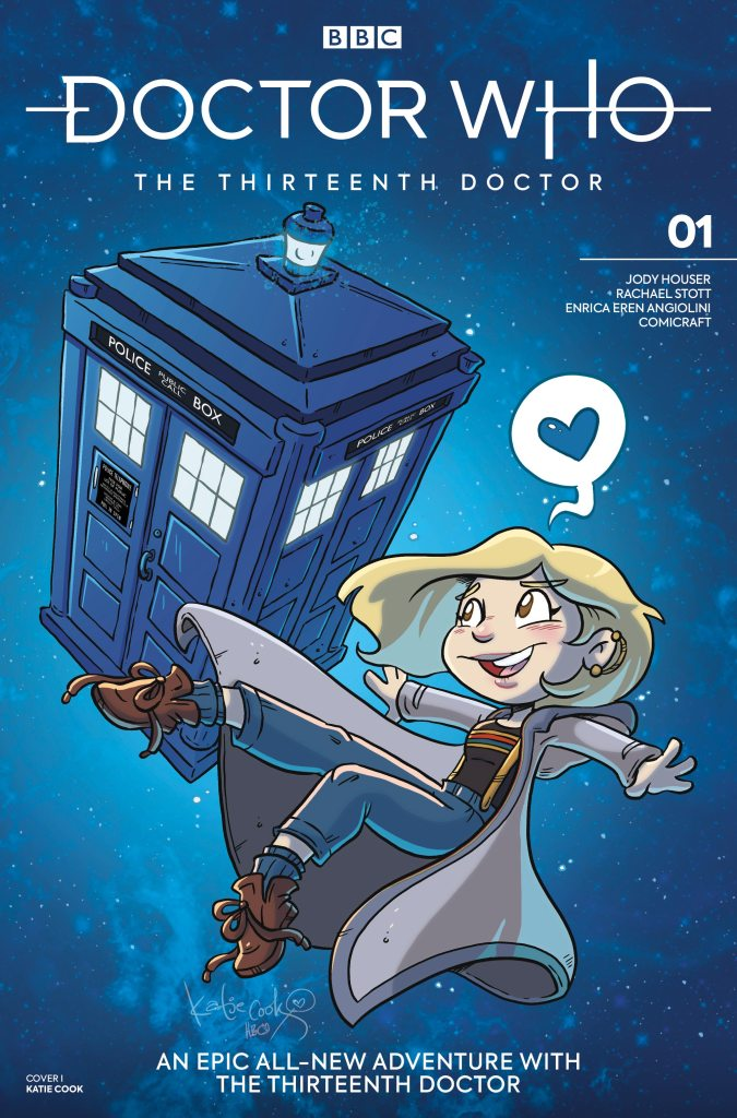 Doctor Who - The Thirteenth Doctor #1 Cover I - Katie Cook