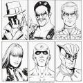Dave Gibbons Watchmen Movie Reference Illustration Original Art (DC/Warner Brothers, 2009). Original Watchmen related art by Dave Gibbons is hard enough to find, but a fantastic grouping of headshots of the six main characters is a real corker of a find! Featuring Rorschach, the Comedian, Ozymandias, Silk Spectre, Dr. Manhattan, and Nite Owl.