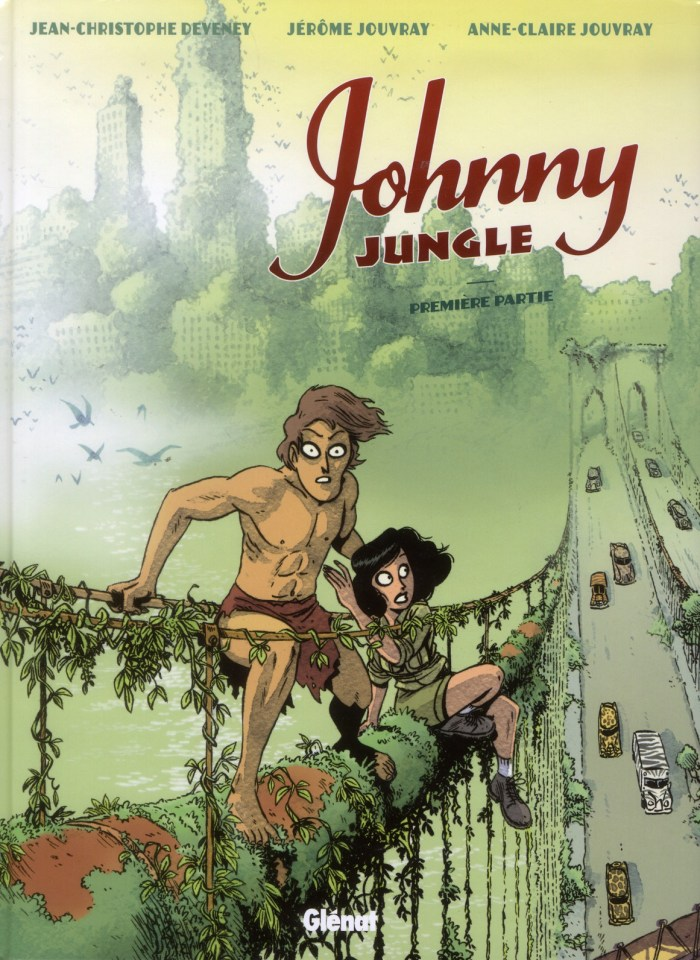 Johnny Jungle by JC Deveny, with Jérome and Anne-Claire Jouvray