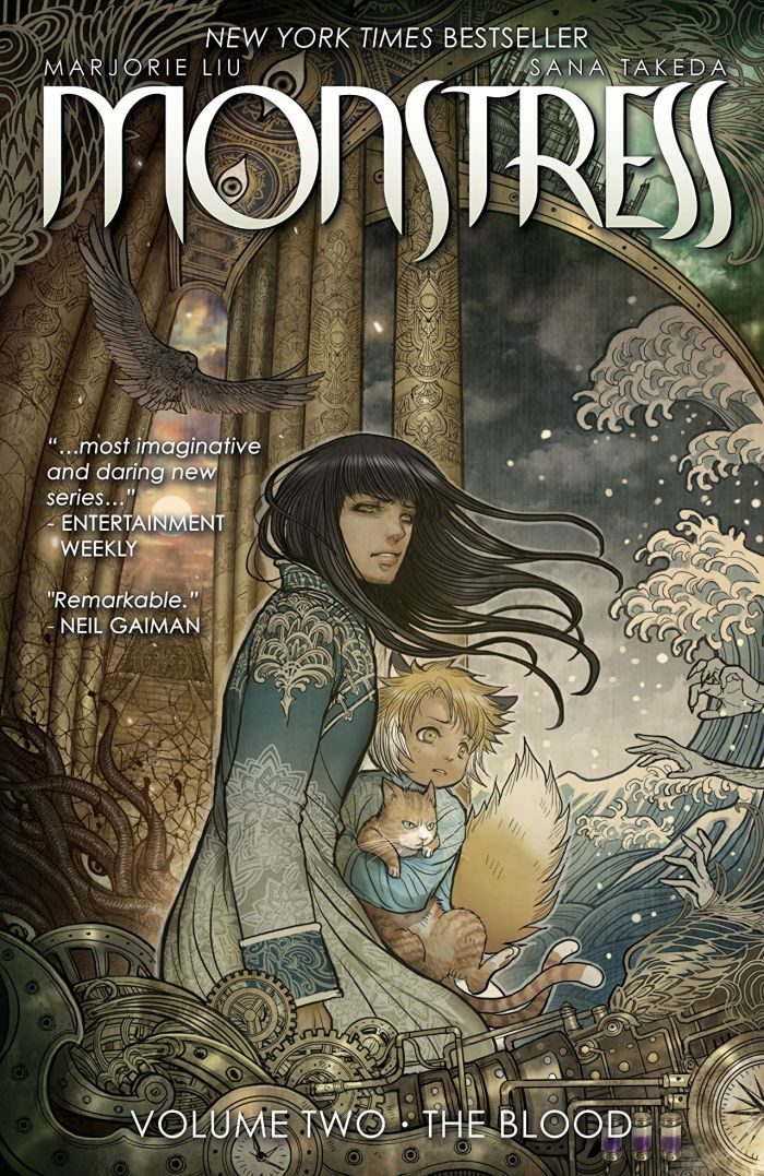 Monstress Volume Two - Cover