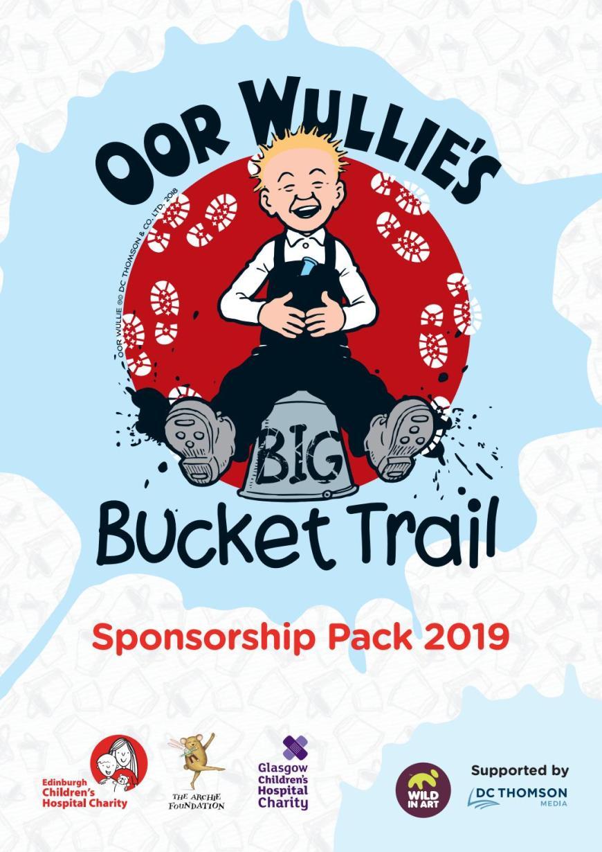 Oor Wullie's BIG Bucket Trail 2019