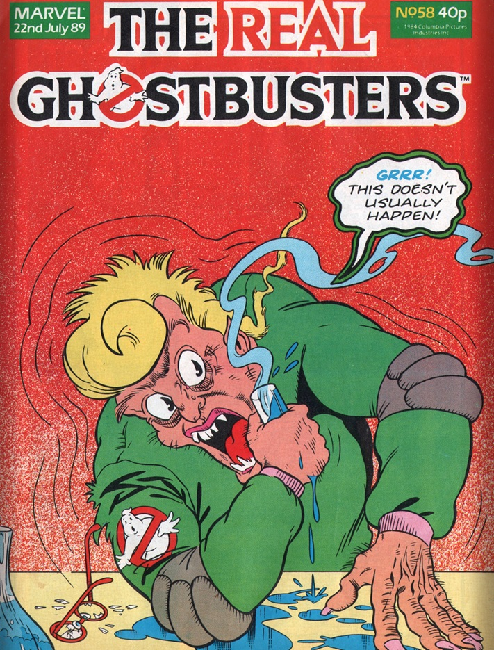 The Real Ghostbusters 58
