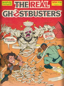 The Real Ghostbusters Issue 64