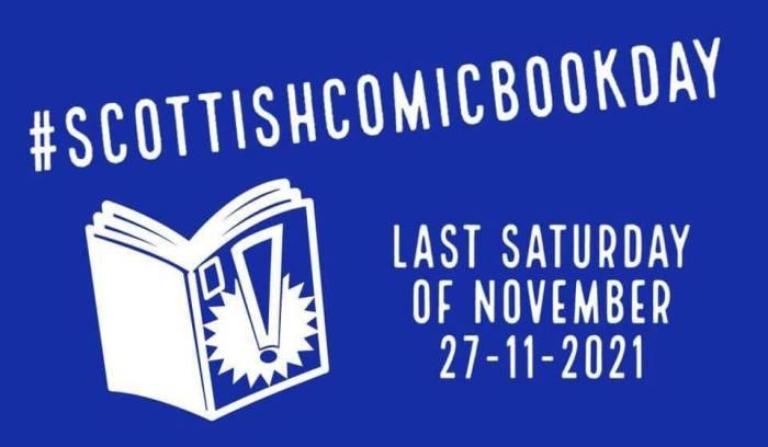 Scottish Comic Book Day, showcasing Scottish Talent in Comics