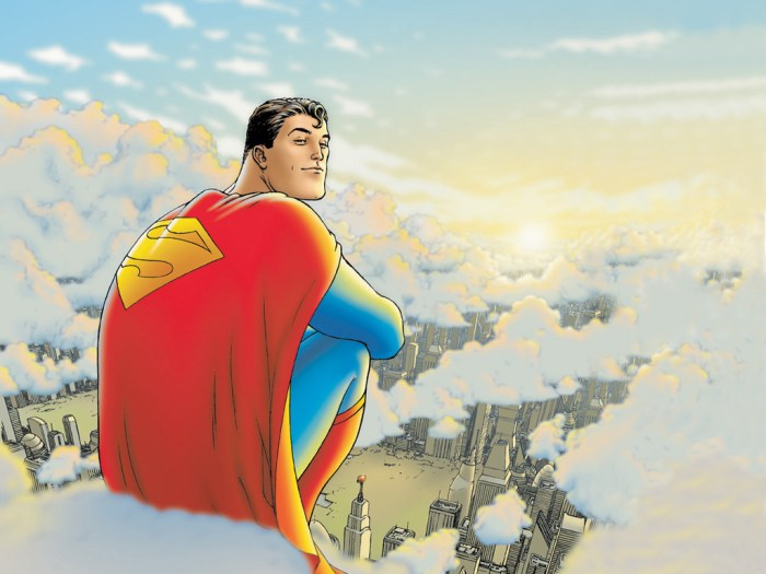 """""""All Star Superman"""" cover by Frank Quitely"""