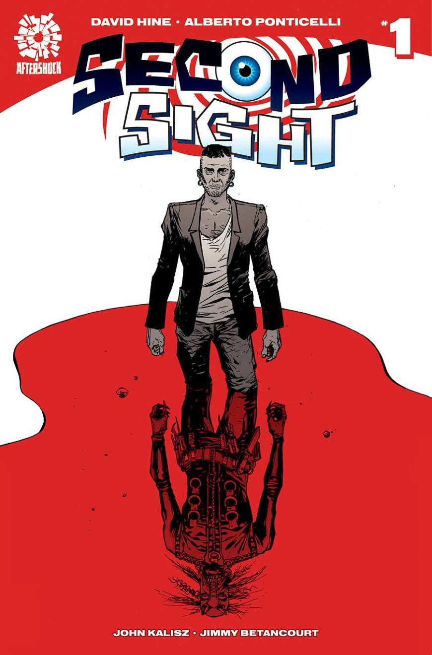 The cover of Second Sight #1, written by David Hine