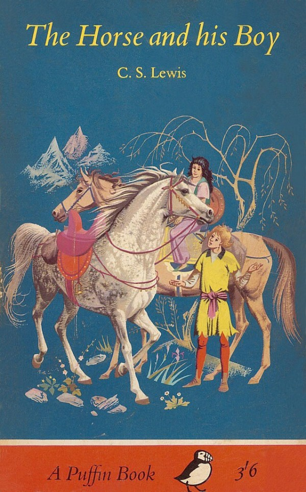 Puffin Books: The Horse and His Boy Cover