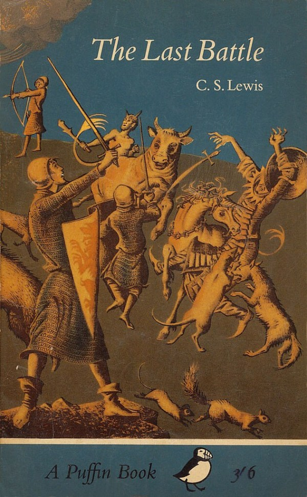 Puffin Books: The Last Battle Cover
