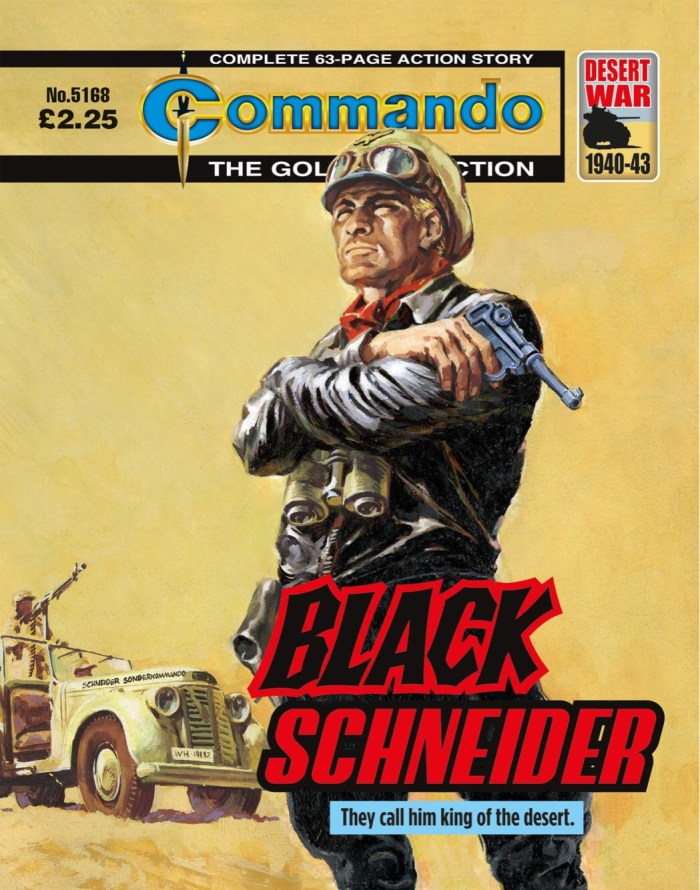 Commando 5168: Gold Collection: Black Schneider