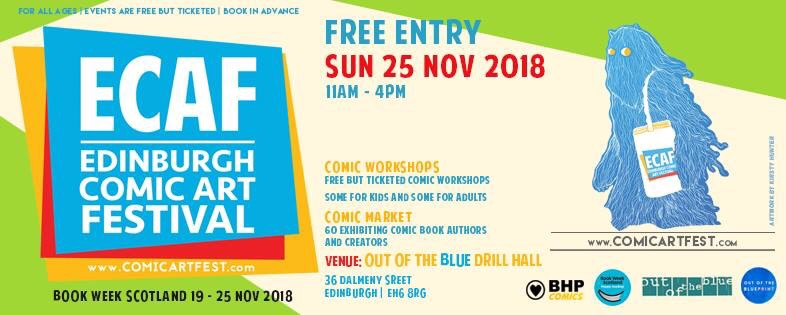 ECAF: Edinburgh Comic Art Festival 2018