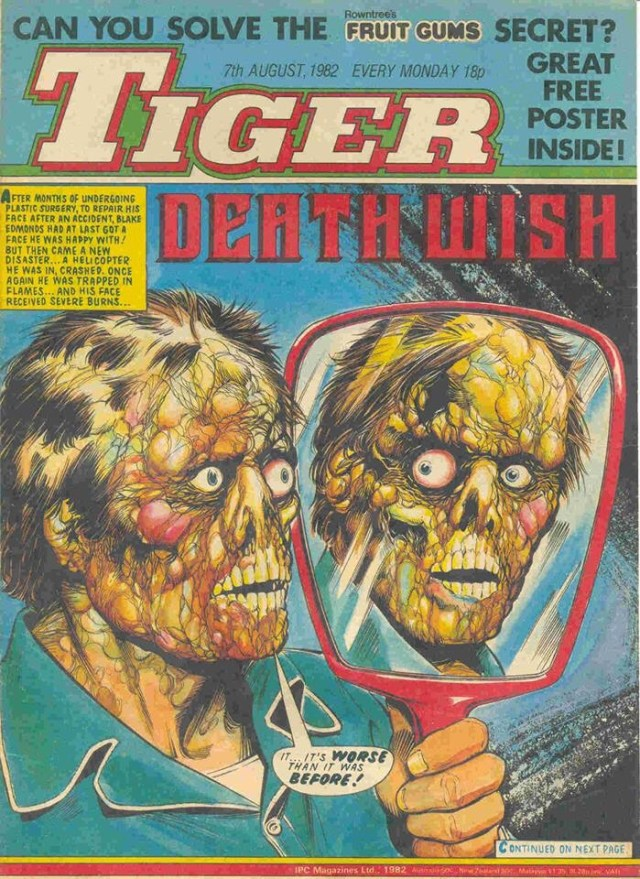 Tiger - 7th August 1982