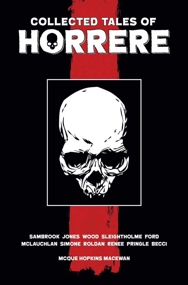 Collected Tales of Horrere - Cover