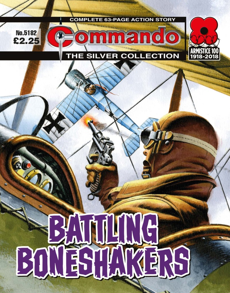 Commando 5182: Silver Collection: Battling Boneshakers