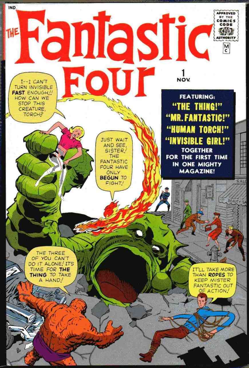 Fantastic Four #1, published in November 1961 © Marvel