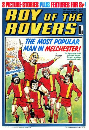 Roy of the Rovers - cover dated 11th March 1978
