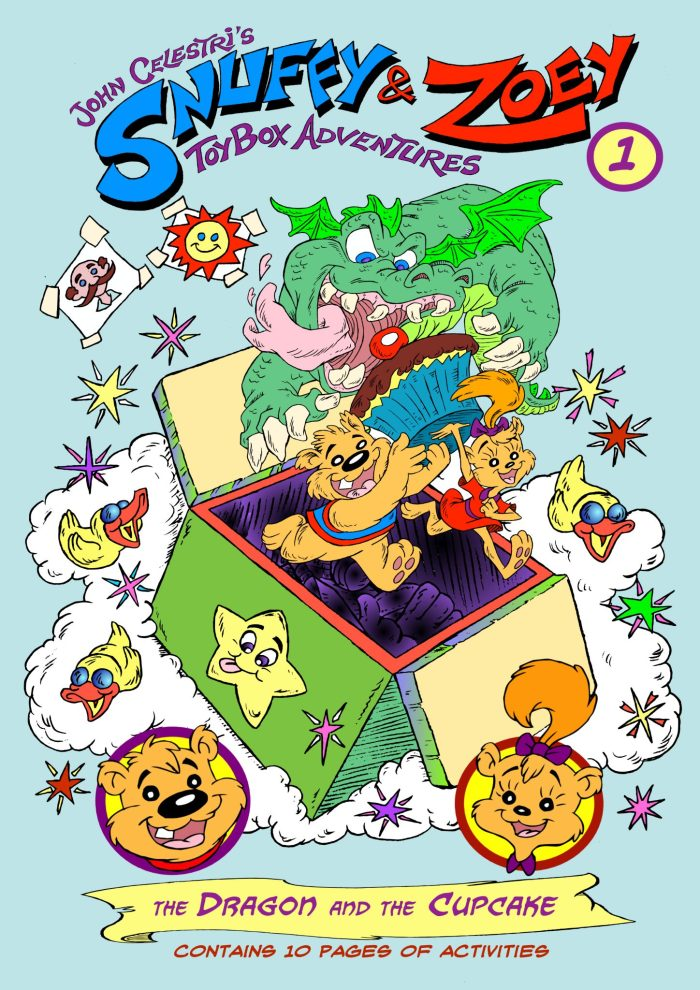 Snuffy & Zoey Toybox Adventures Book 1 – The Dragon and the Cupcake