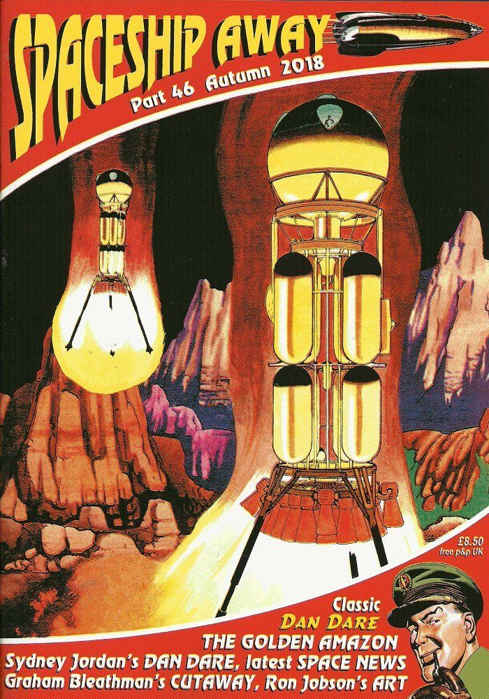 Spaceship Away (Issue 46) - Cover
