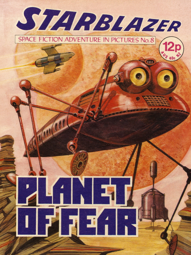 Starblazer No. 8: Planet of Fear