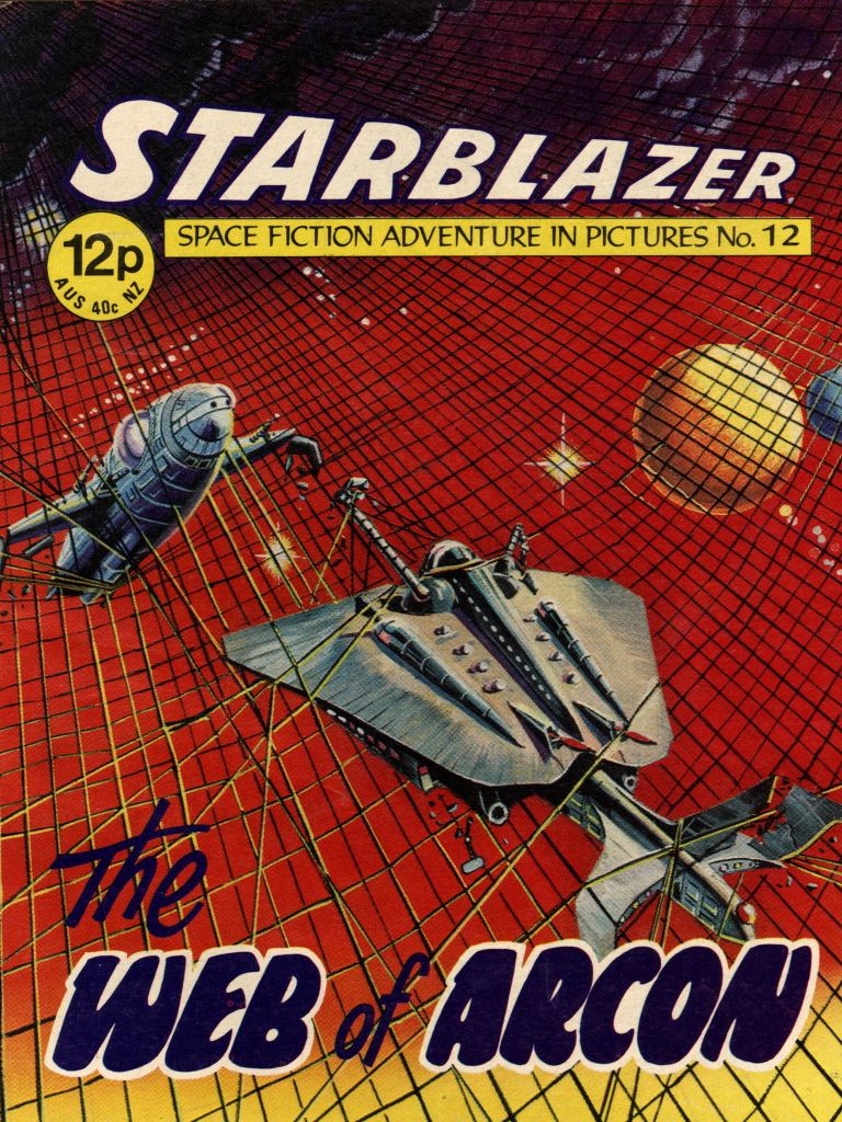 Starblazer No. 12: The Web of Arcon