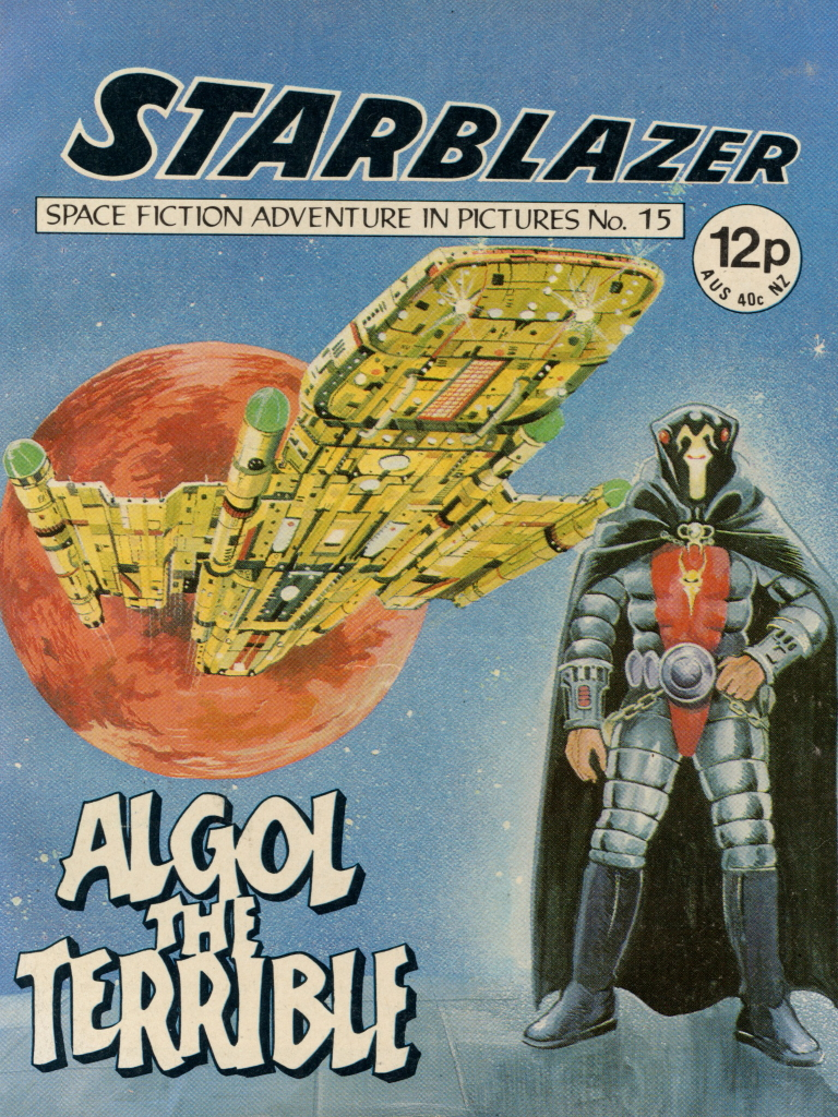 Starblazer No. 15: Algol the Terrible