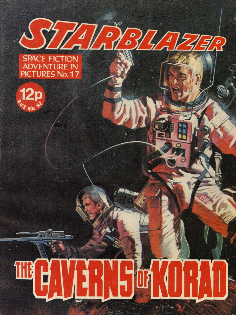 Starblazer No. 17: The Caverns of Korad