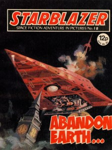 Starblazer Issue 18