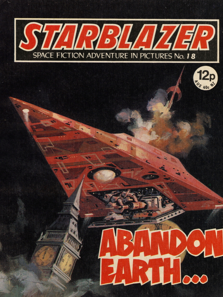 Starblazer No. 18: Abandon Earth
