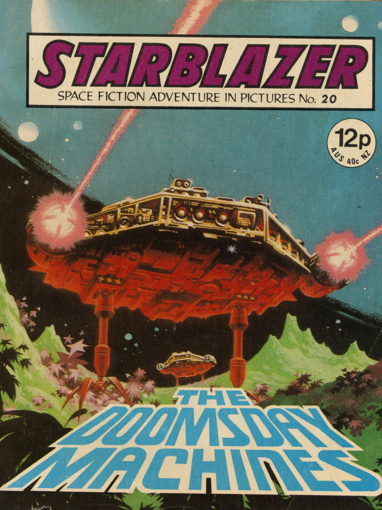 Starblazer No. 20: The Doomsday Machines