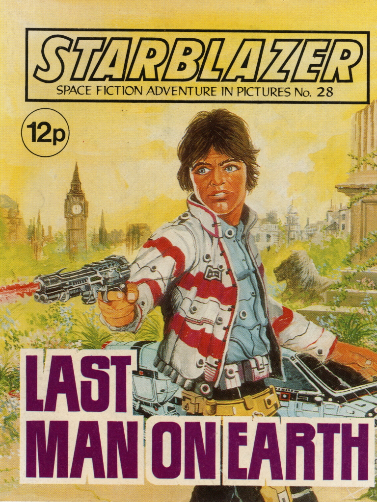 Starblazer No. 28: Last Man on Earth