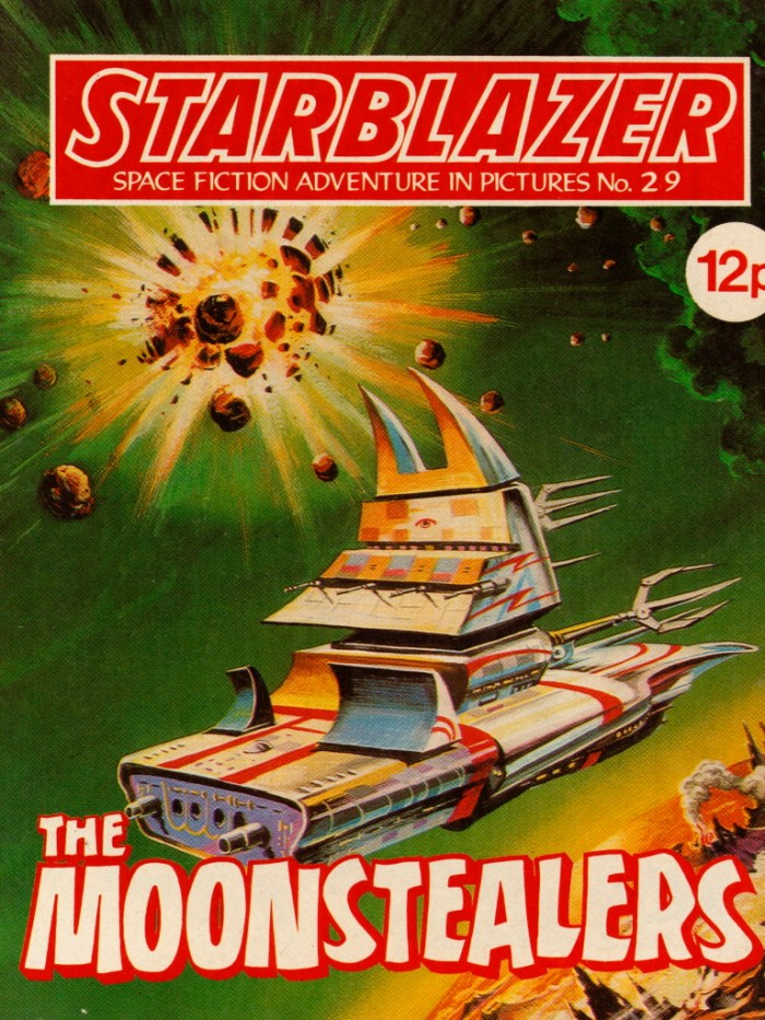 Starblazer No. 29: The Moonstealers