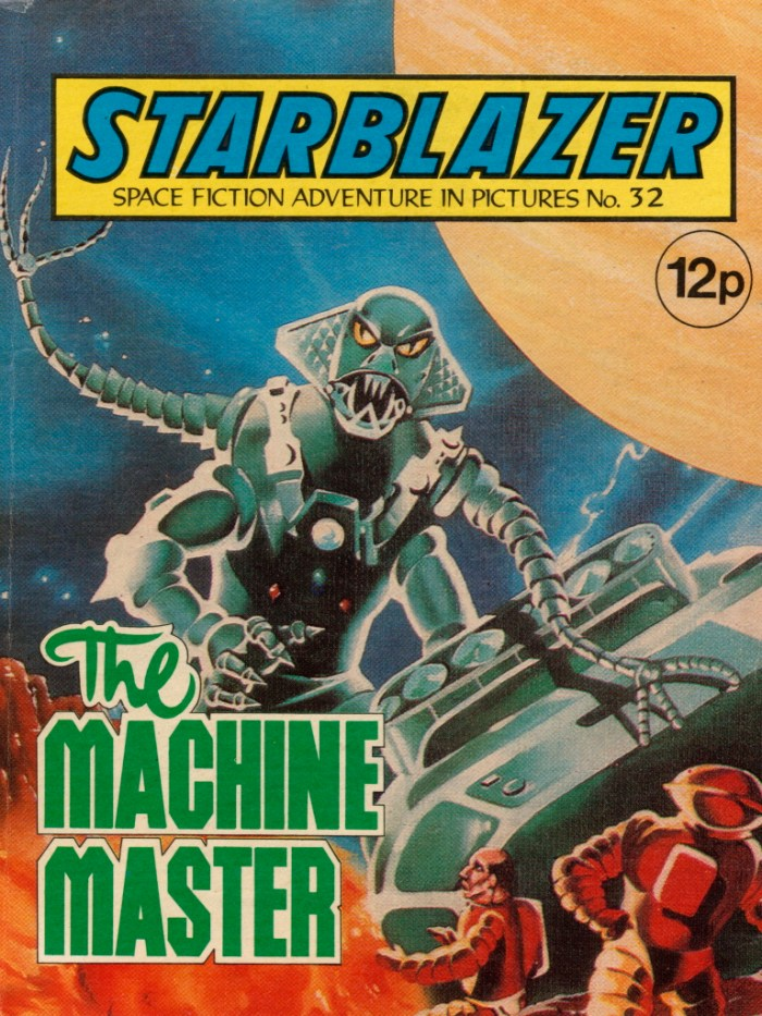 Starblazer No. 32: The Machine Master