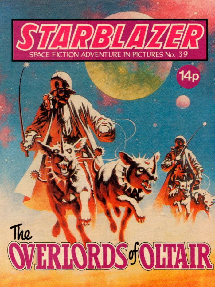 Starblazer No. 39: The Overlords of Oltair