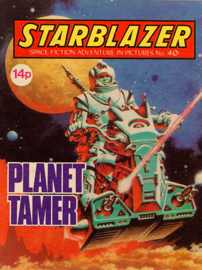 Starblazer No. 40: The Planet Tamer