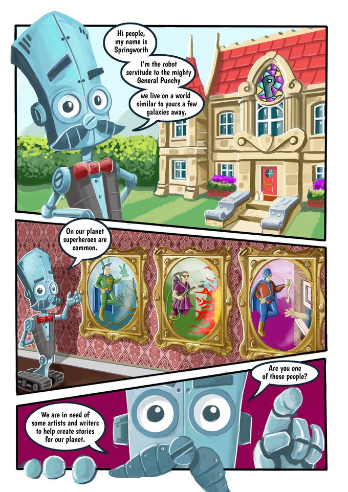 How To Make Comics With Springworth - Sample Art