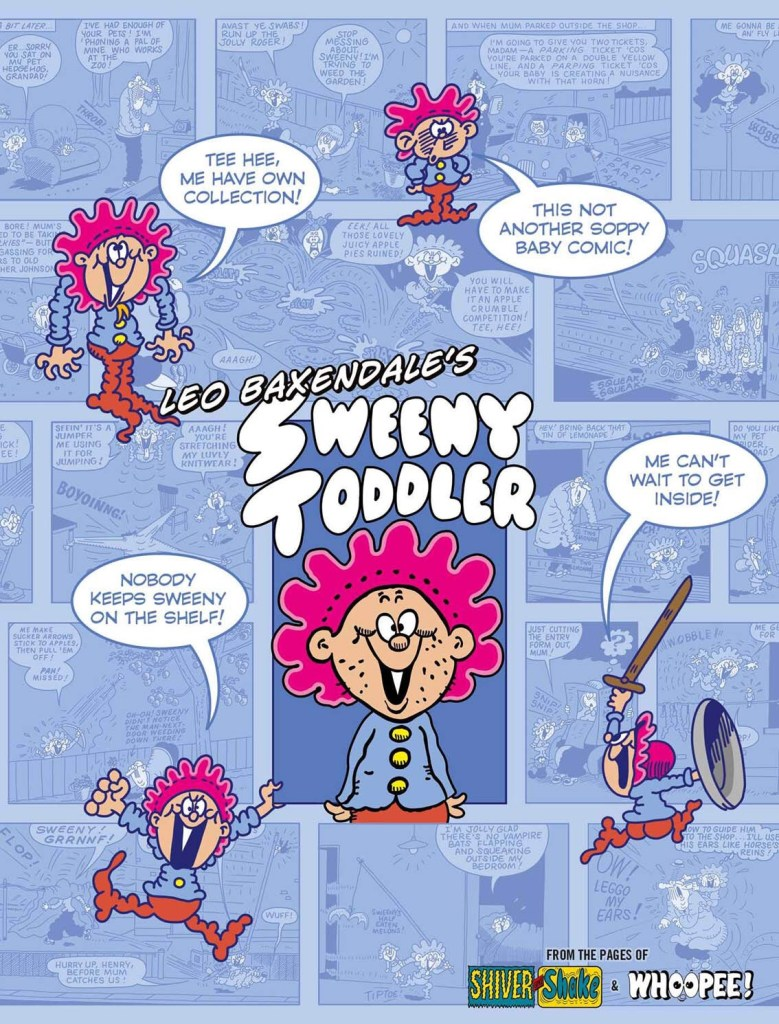 Leo Baxendale's Sweeny Toddler - Cover
