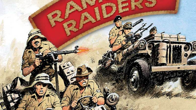 Commando's Ramsey's Raiders are back – in full colour!