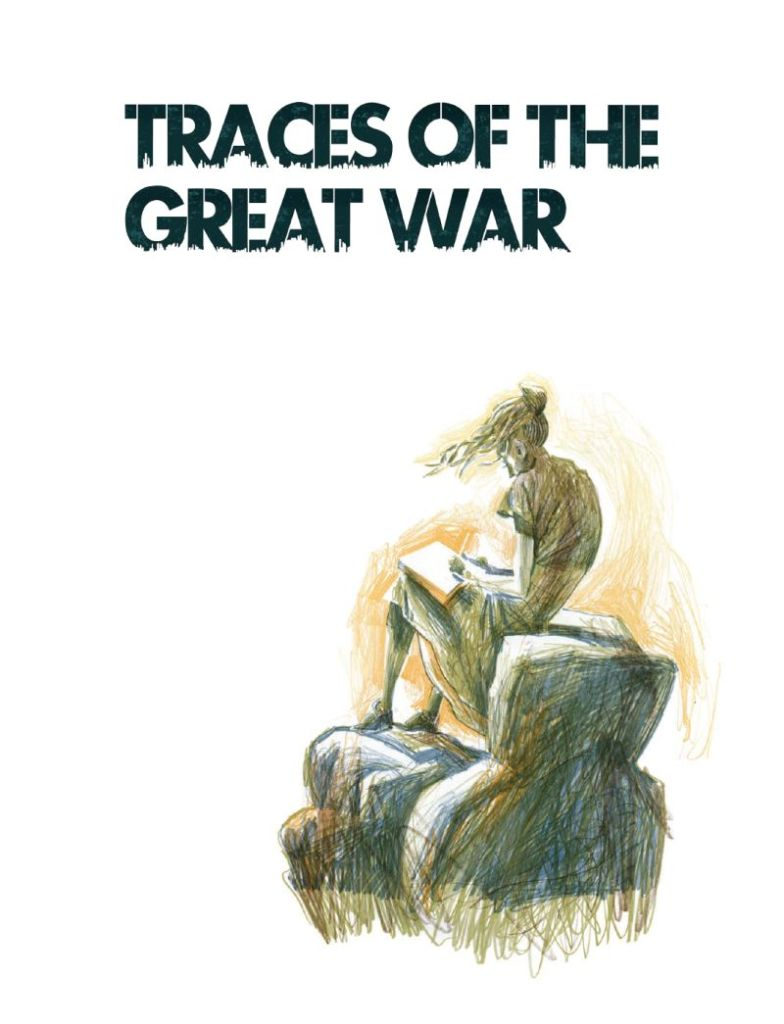 Traces of the Great War Frontispiece by Dave McKean