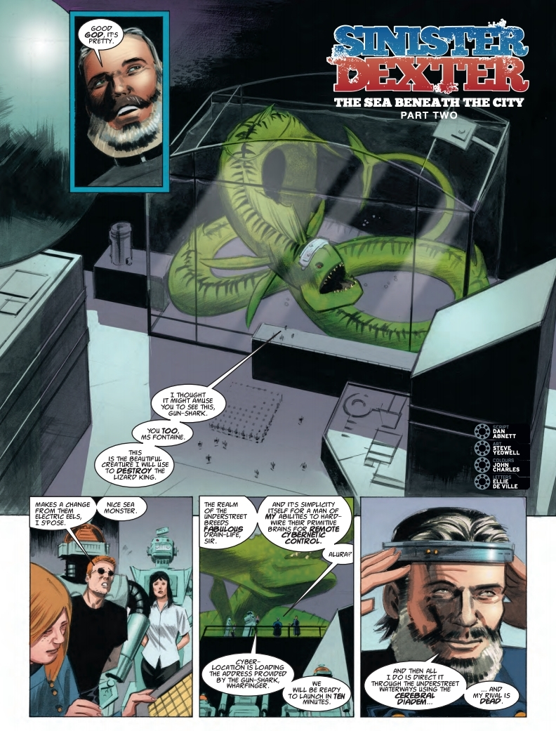 2000AD 2110 - Sinister Dexter - The sea beneath the city (part 2)
