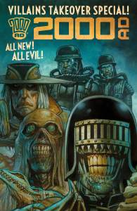 2000AD Villains Take Over One Shot Special