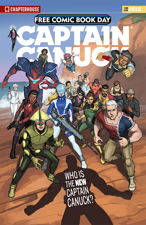 CAPTAIN CANUCK: EQUILIBRIUM SHIFT #1 — FREE COMIC BOOK DAY 2019