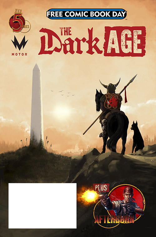 THE DARK AGE/AFTERBURN ONE-SHOT — FREE COMIC BOOK DAY 2019