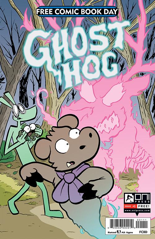 GHOST HOG #1 — FREE COMIC BOOK DAY 2019