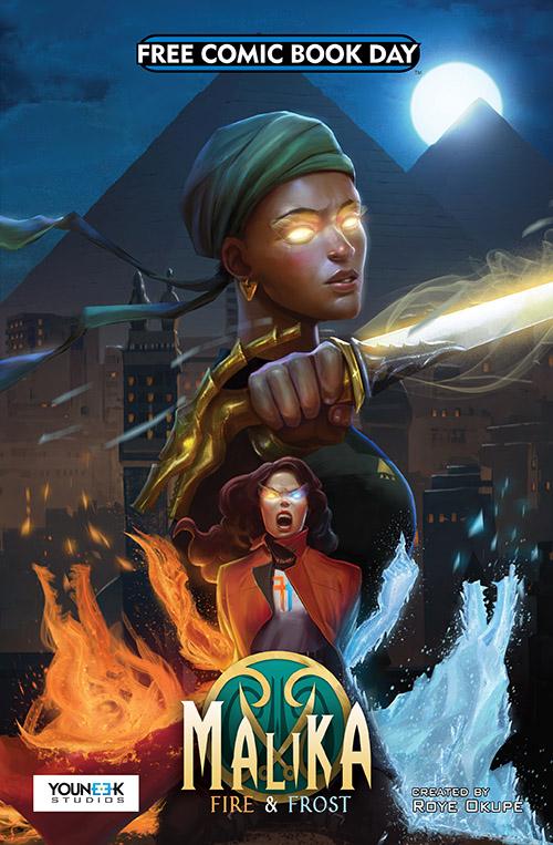 MALIKA: FIRE & FROST — FREE COMIC BOOK DAY 2019