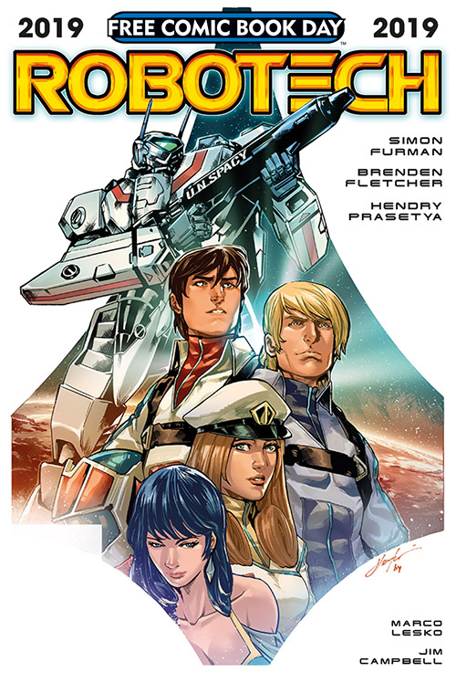 ROBOTECH — FREE COMIC BOOK DAY 2019