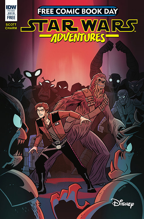STAR WARS ADVENTURES: DROID HUNTERS — FREE COMIC BOOK DAY 2019