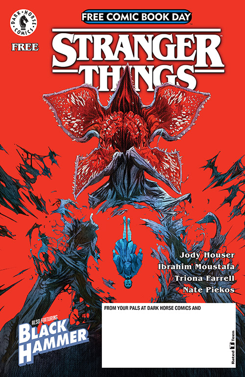 STRANGER THINGS & BLACK HAMMER — FREE COMIC BOOK DAY 2019