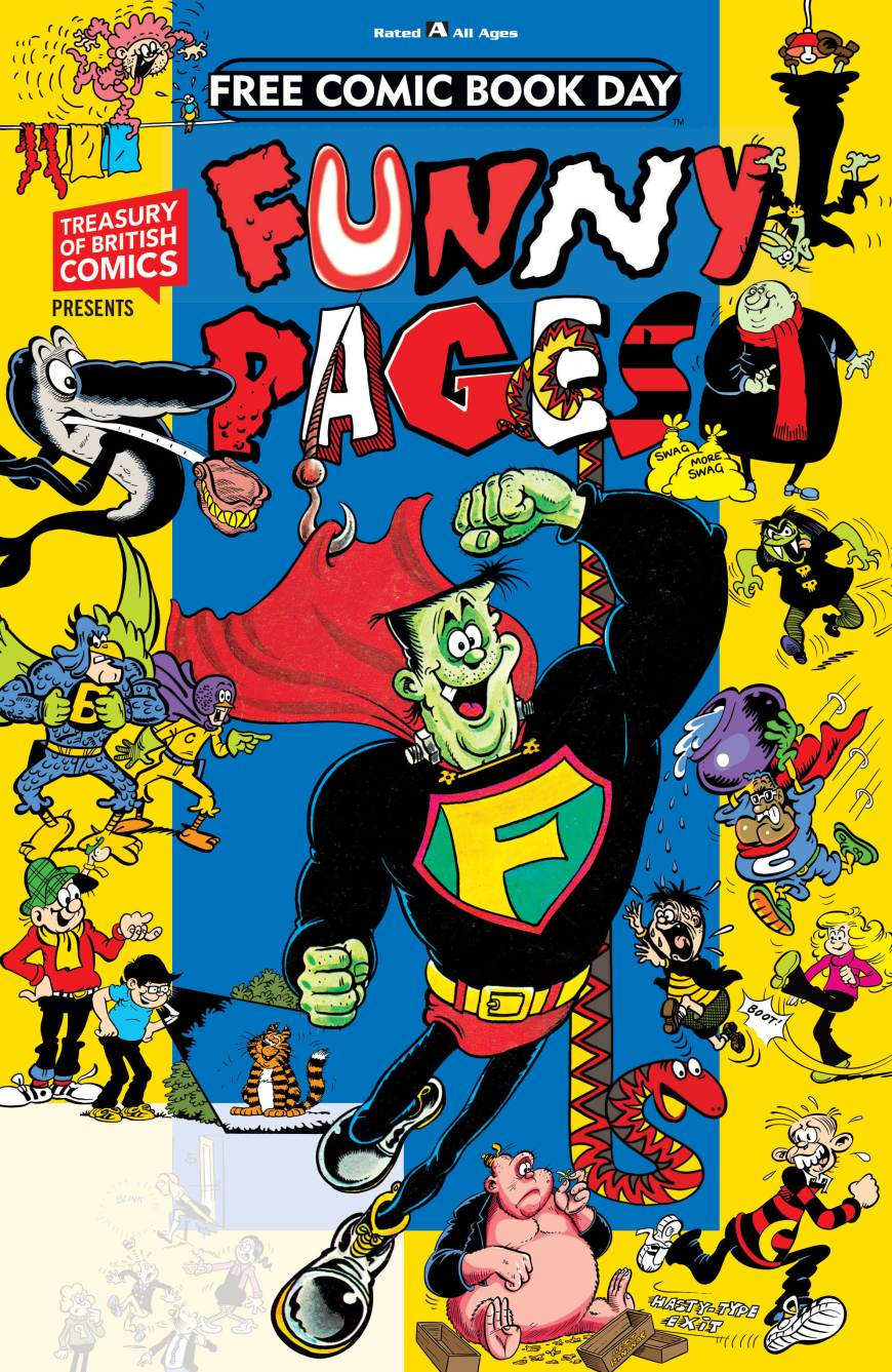 The Treasury of British Comics Presents Funny Pages FCBD 2019
