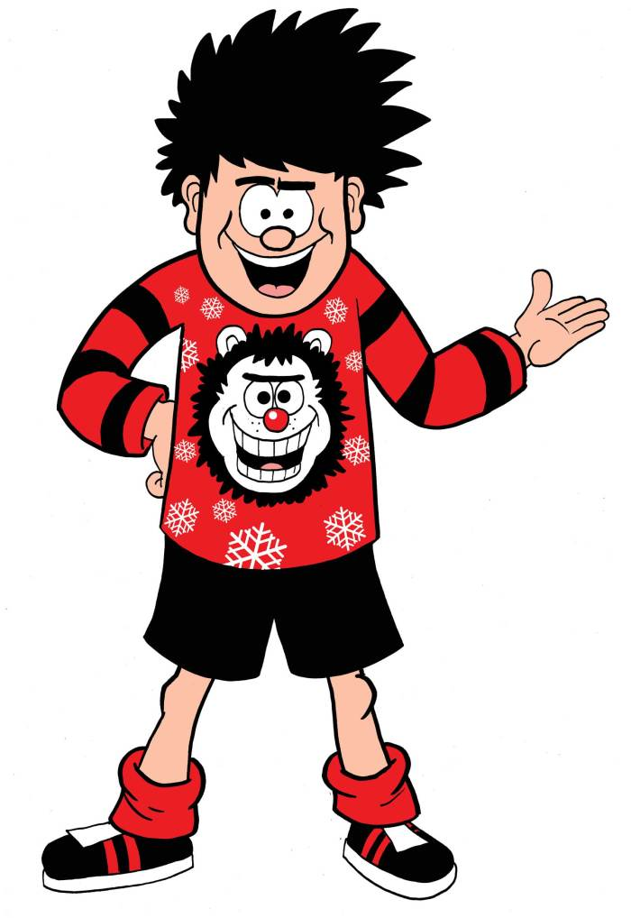 Save the Children Christmas Jumper Day 2018 - Dennis the Menace