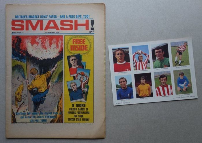 Smash Issue 21 - cover dated 21st February 1970 - with free gift